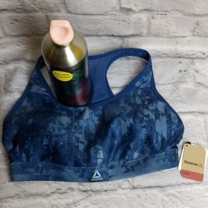 Reebok Sports Bra Sz S and Stainless Bootle NEW